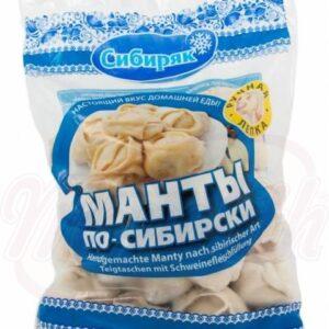 Манты по-сибирски