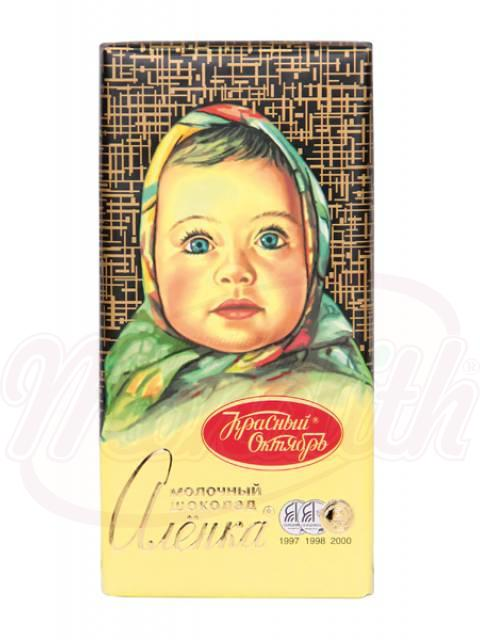 """Шоколад молочный """"Аленка"""""""