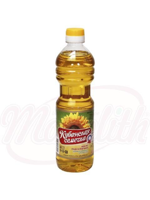 """Подсолнечное масло """"Кубанская семечка"""""""