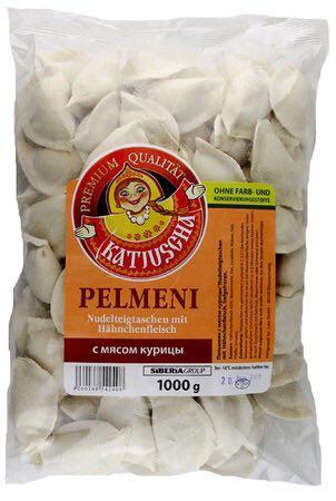 Пельмени сибирские с мясом курицы