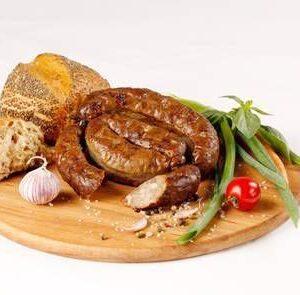 Колбаса домашняя с печенью