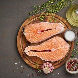Рыбные стейки, филе