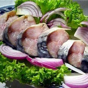 Соленая, маринованная рыба