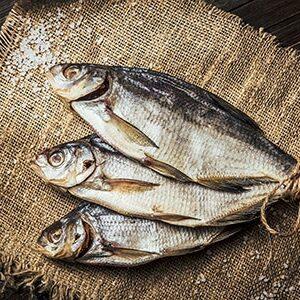 Вяленая, сушеная рыба
