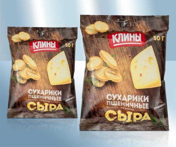 Сухарики со вкусом сыра